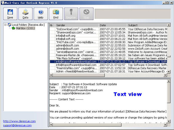 free mail software